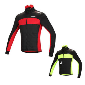 Men s Winter Cycling Jerseys Riding Jacket Bike Jackets Cycling ... 51b3ccbef