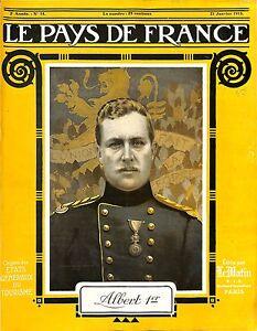 Portrait-Albert-Ier-de-Belgium-Belgium-Roi-Soldat-Saxe-Cobourg-Gotha-1915-WWI