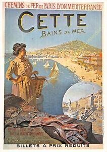 CP Poster Chemins Iron P. L. M. This Edit Mic Max 3077