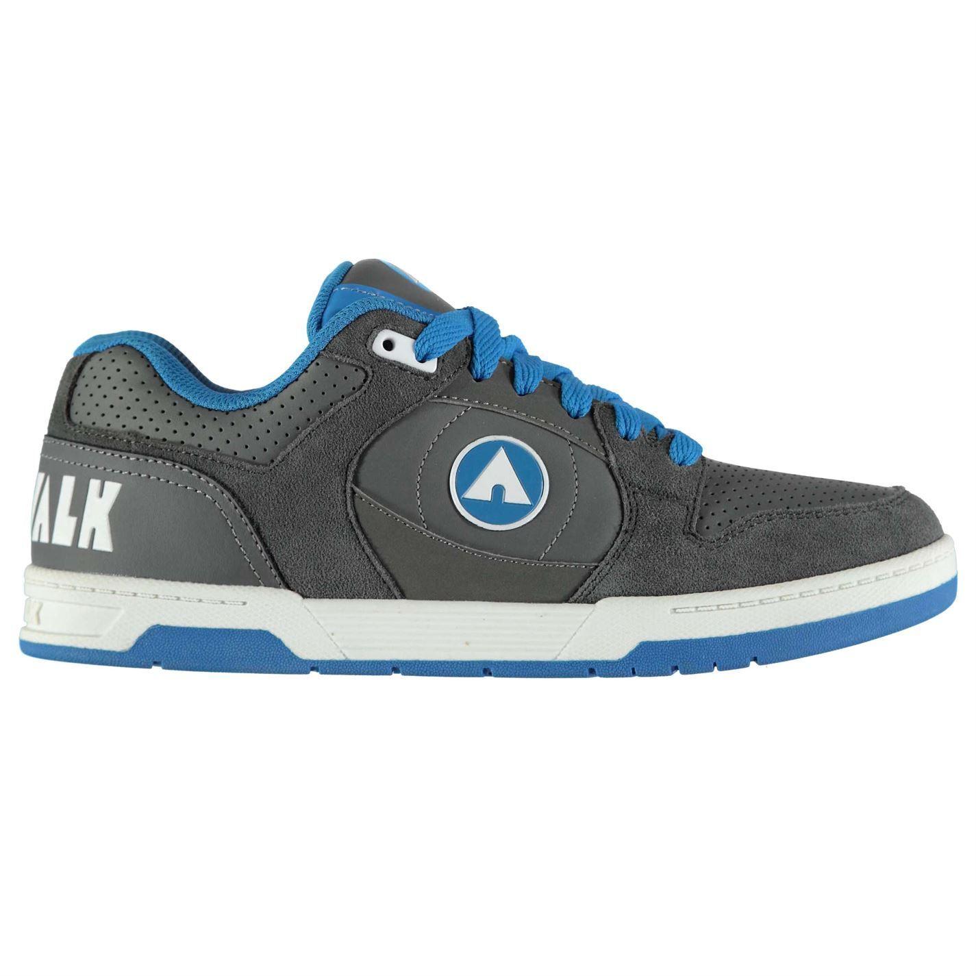 Airwalk Gents Mens Neptu Throttle Shoes Laced Skate Sports Sneaker Trainers 7-13