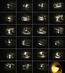 Zwei-8-mm-Filme-Dick-amp-Doof-Bettgefluester-Antenbauer-Slapstick-Laurel-amp-Hardy