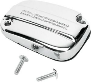 Chrome-Front-Brake-Master-Cylinder-Cover-for-Harley-Touring-09-19-FLTR-FLHT-FLHR