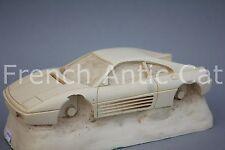 Rare matrice moule résine voiture 1/24 FERRARI 348 TB Heco Miniature Chateau WC