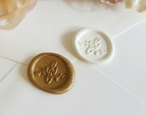Adhesive Wedding Seal Sticker Wax Seal Wedding Wax Stickers Wax Seal Sticker Wreath Wax Seal Wax Sticker Self Adhesive Wax Seals