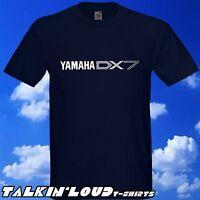 YAMAHA DX7 Keyboard T Shirt Moog Roland Juno