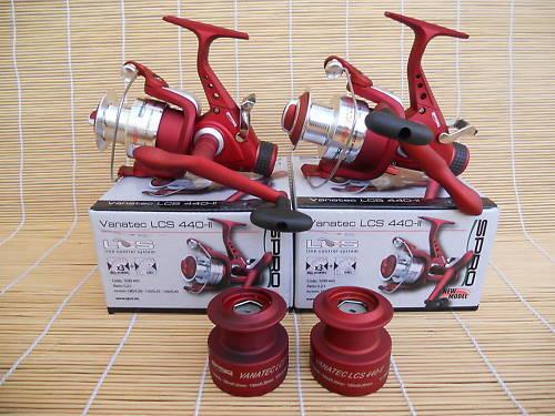 2 Freilaufrollen ROT Vanatec LCS 440-2 ROT Freilaufrollen im Set 522cde