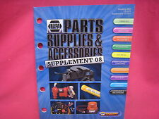 USED NAPA  PARTS SUPPLIES AND ACCESSORIES SUPPLEMENT GUIDE CATALOG 2008 (N-292)