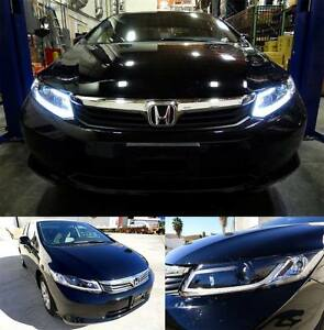 honda civic 2012 2013 coupe sedan 2 4dr smoke led. Black Bedroom Furniture Sets. Home Design Ideas