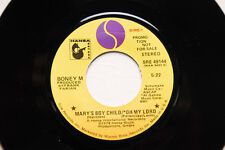 """BONEY M He Was A Steppenwolf/Mary's Boy/Oh My Lord 7"""" PROMO NM Soul R&B"""
