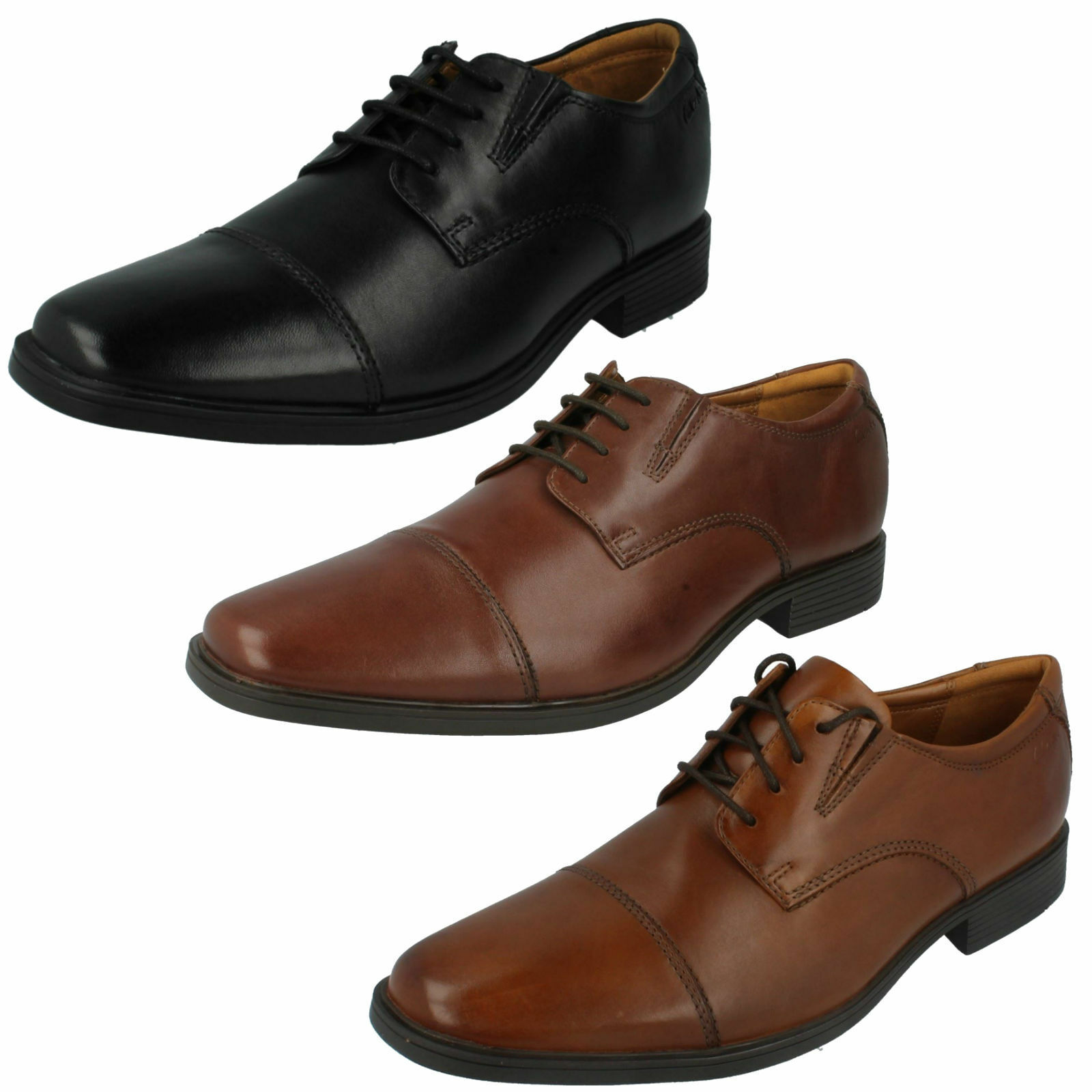 Men's Clarks Formal Leather shoes - Tilden Cap