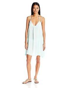 9e7497c613 NWT Roxy Swimsuit Bikini Cover Up Dress Size L Windy Fly Away Dress ...