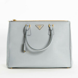 Prada-Large-Saffiano-Lux-Double-Zip-Womens-1BA786-F073X-Tote-Bag-Granito-Gray