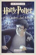 Harry Potter y la Orden del Fnix Spanish Edition