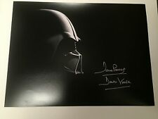 *New *Dave Prowse  Hand signed  Darth Vader 12x16 : C