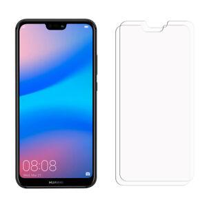 2 Clear LCD Huawei P20 Lite Displayschutzfolie Saver für Handys