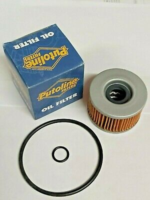 MOTORCYCLE OIL FILTER PUTOLINE HONDA FT 500 VT 500 BUY ONE GET ONE FREE PF08320