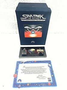 Star-Trek-The-Movies-25th-Anniversary-Collection-with-Collectors-Pins-VHS-Set