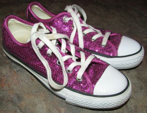 Converse Unisex All Star Specialty Purple Sequin S