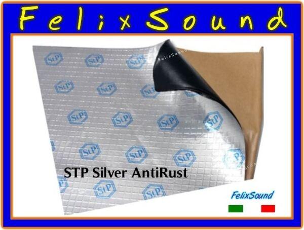 Generoso Stp Silver Antirust 1 Foglio Antivibrante Portiere 53 X 75cm Supplemento L'Energia Vitale E Il Nutrimento Yin