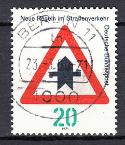BRD-1971-Mi-Nr-666-TOP-Vollstempel-Rundstempel-gestempelt-LUXUS-19108