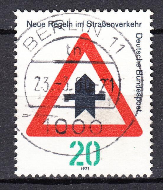 BRD 1971 Mi. Nr. 666 TOP Vollstempel / Rundstempel gestempelt LUXUS! (19108)