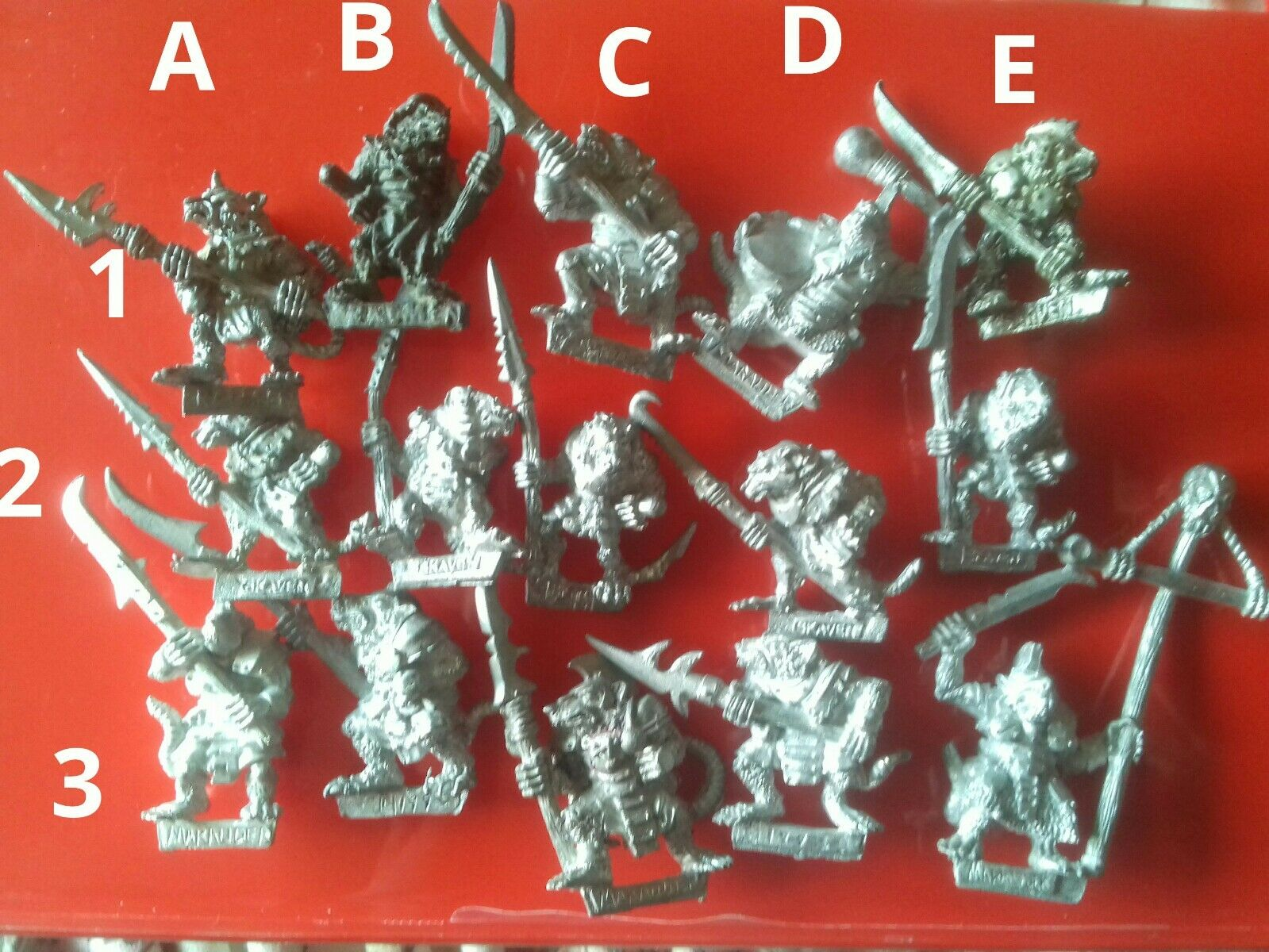 15x Stormvermin Skaven Chaos ratmen marauder & citadel gw command and clanrats