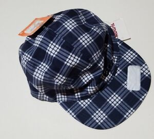 702d938f Boys Nike 6.0 Navy Blue White Plaid 100% Polyester Adjustable Hat ...