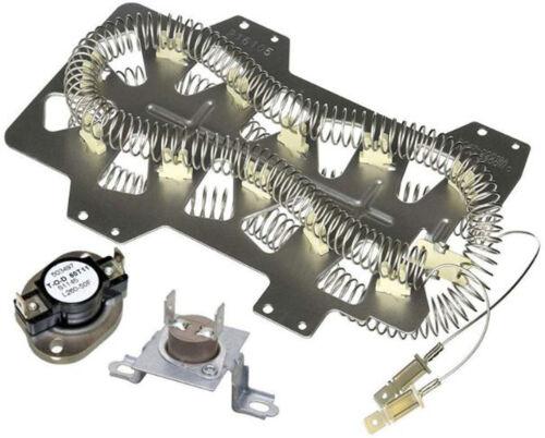 Nouveau Sèche-linge élément chauffant Fusible Kit Avec Thermostat Pour Samsung DV 422 ewhdwr//AA-0000