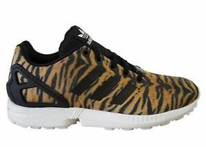 photos officielles 21e8a ee0d0 Details about Junior Adidas ZX Flux K Leopard Print AQ3303 Size UK 5.5 EU  38 2/3