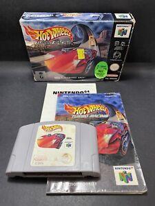N64 Nintendo 64 Juego-hot Wheels: Turbo Racing [en Caja] - PAL