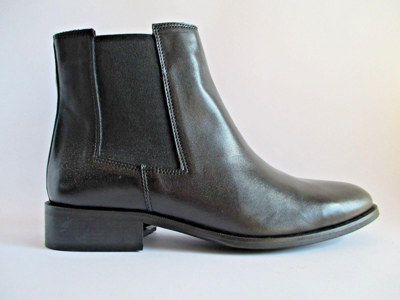 ZIGN classiche scarpe basse Tronchetti CHELSEA 39 BOOT PELLE NERO MIS. 39 CHELSEA c8 1e892e