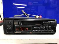 Pioneer Old Classic Vintage Car Radio Stereo Cassette Player Model Keh-3500