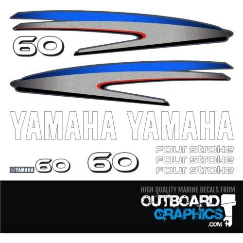aufkleber-kit Yamaha 60PS 4-takt abziehbilder