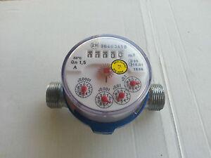 """Wasserzähler,bis 30 Grad,1/2"""" Anschlüsse,unbenutzt - Bleialf, Deutschland - Wasserzähler,bis 30 Grad,1/2"""" Anschlüsse,unbenutzt - Bleialf, Deutschland"""