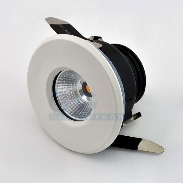 LED Einbaustrahler 7W warmweiss Einbauleuchte IP44 Lampe 230V SMD