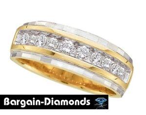 Image Is Loading Mens Diamond 25 Carat Wedding 14k Yellow Gold