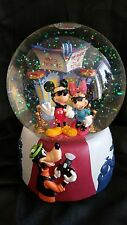 VINTAGE ENESCO MICKEY MOUSE MUSICAL LIGHT UP GLOBE - YOU OUGHTA BE IN PICTURES