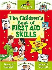 Children's Book of First Aid Skills, Paperback by Award, Anna, Like New Used,...