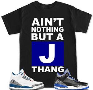 974a1506988b J THANG Blue T Shirt to match with Air Jordan Retro 3 True Blue ...