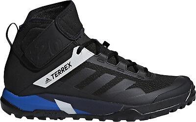 Ultima Raccolta Di Adidas Terrex Trail Cross Proteggi Scarpe Ciclismo Da Uomo-nero-mostra Il Titolo Originale Rinfrescante E Arricchente La Saliva