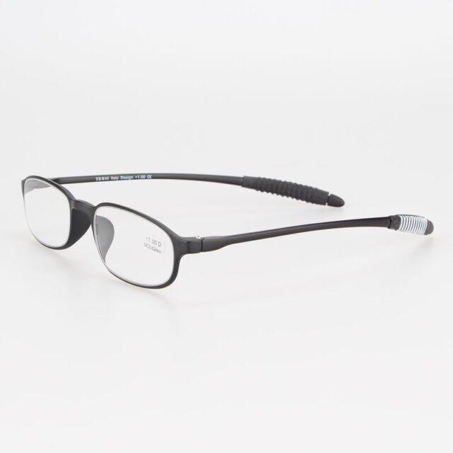 Black TR-90 Flexible Mini Portable Computer Reading Glasses +1.00 to +4.00