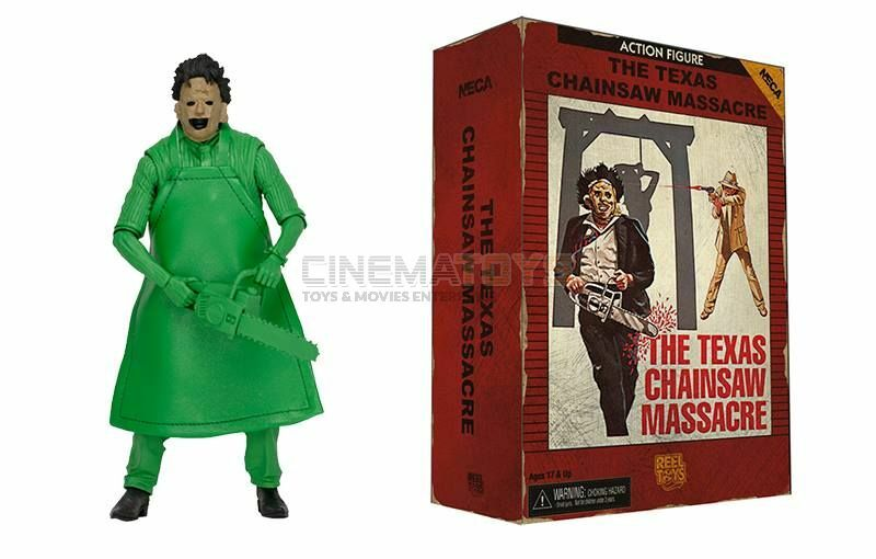 Leatherface Texas Chainsaw Chainsaw Chainsaw Massacre Action Figure '83 Video Game Appearance Neca 020913