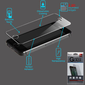 For Apple iPhone 5 5s 5c SE Tempered Glass Screen Protector Guard Film Premium