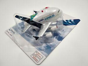 Avion Airbus A380 jouet avec son led rétrofriction neuf longueur 12cm