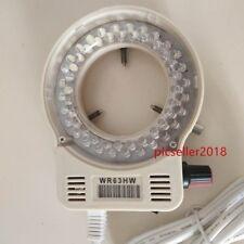 Adjustable White Led Ring Light Illuminator Wr63hw For Meiji Emz Microscope