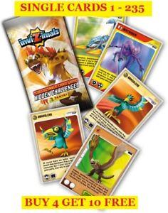 Panini INVIZIMALS Hidden Challenges Cards Buy 2 Get 10 Free