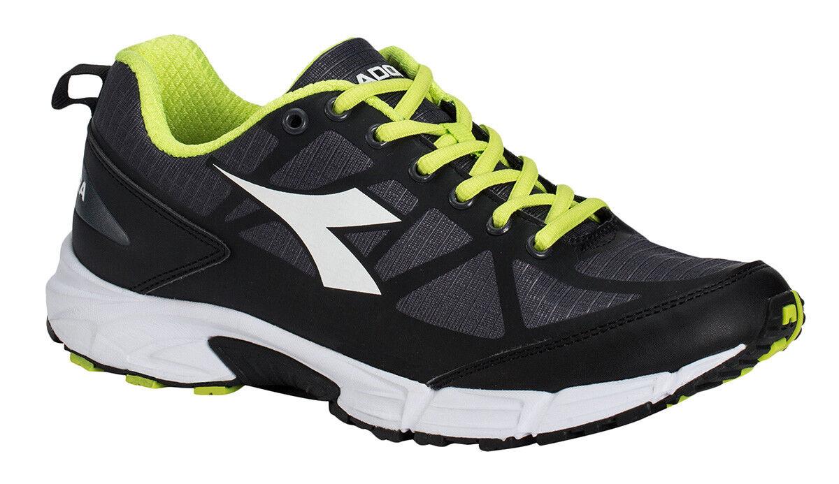 Diadora Zapatos Correr Tenis para Correr Hombre RAID 3 Negro  blancoo Zapatos prístina  descuento de ventas en línea