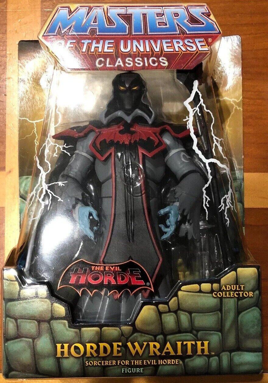 NEW Horde Wraith Masters of the Universe Classics MOTUC MIB MOTU