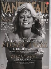 Vanity Fair September 2009 Farrah Fawcett, Michael Jackson EX 122815DBE