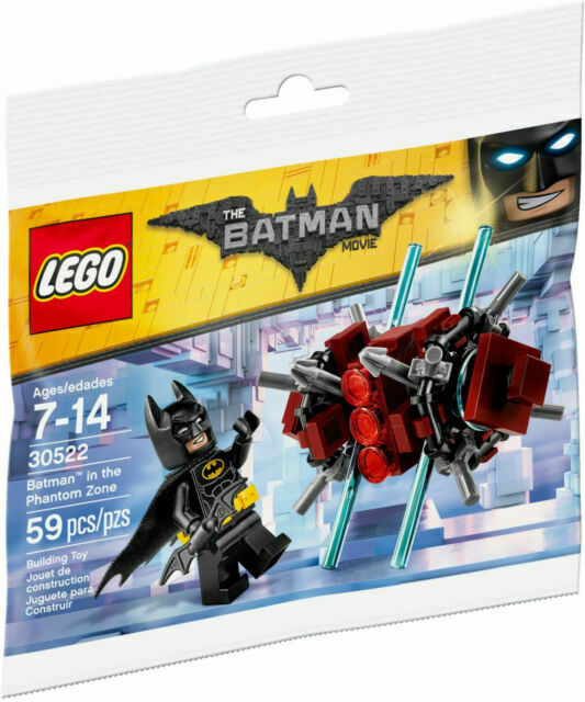 LEGO Batman 30522 Batman Movie Batman in  Phantom Zone Bag NEW SEALED polybag